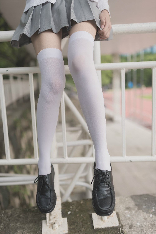 【兔玩映画】白丝过膝袜 兔玩映画 第46张