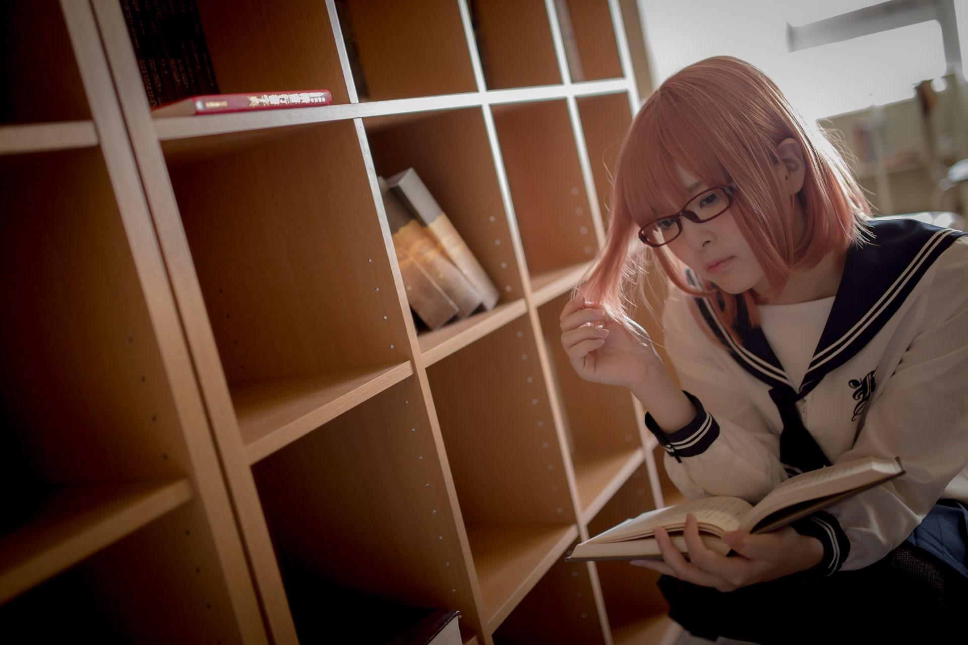 【兔玩映画】图书馆里学妹酱 兔玩映画 第36张