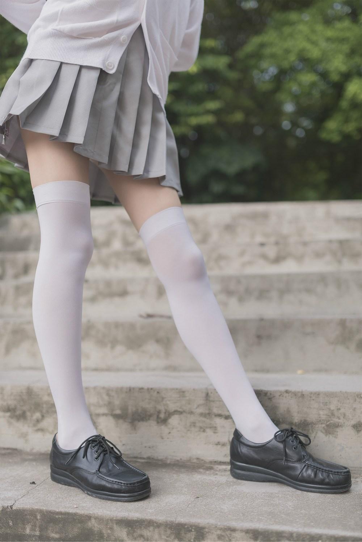 【兔玩映画】白丝过膝袜 兔玩映画 第42张