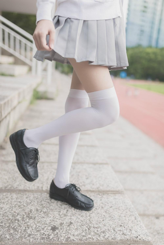 【兔玩映画】白丝过膝袜 兔玩映画 第40张