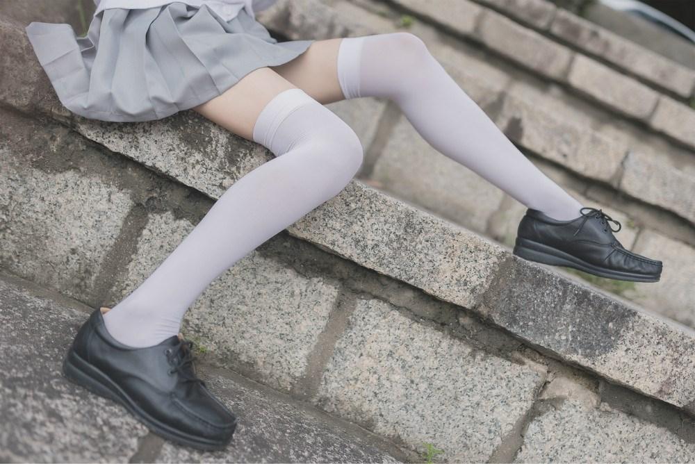 【兔玩映画】白丝过膝袜 兔玩映画 第39张