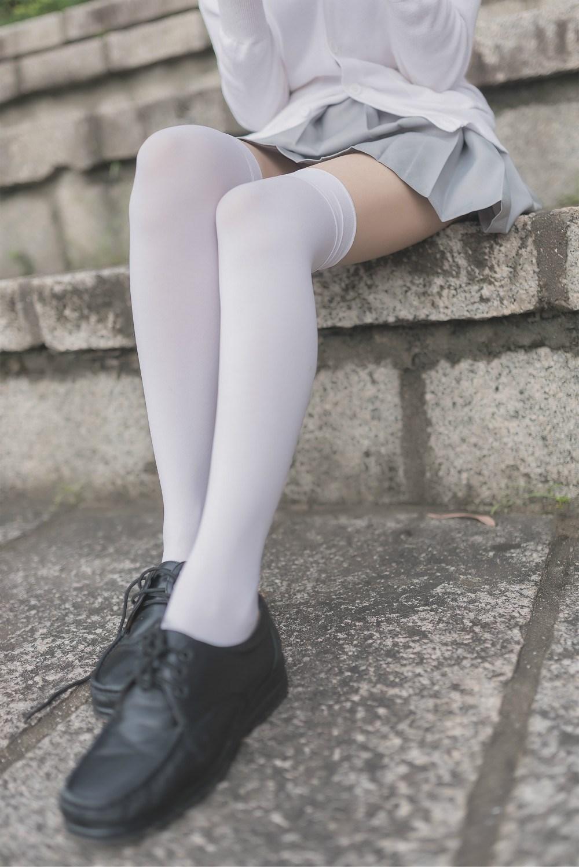 【兔玩映画】白丝过膝袜 兔玩映画 第38张