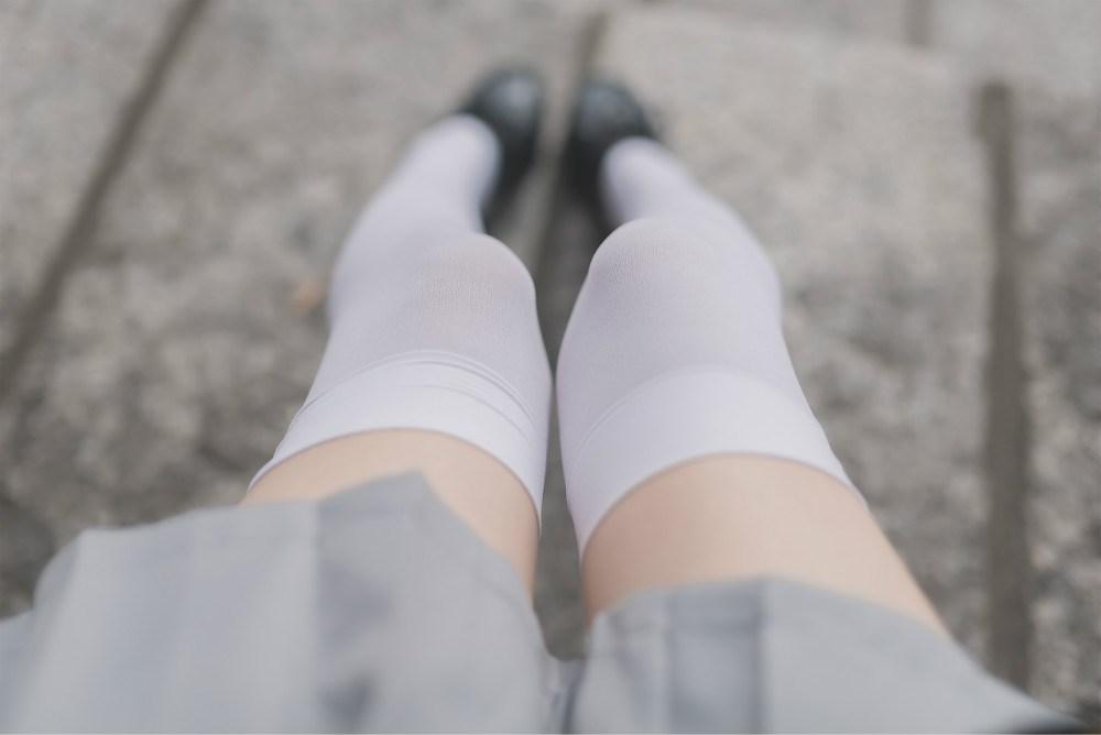 【兔玩映画】白丝过膝袜 兔玩映画 第35张