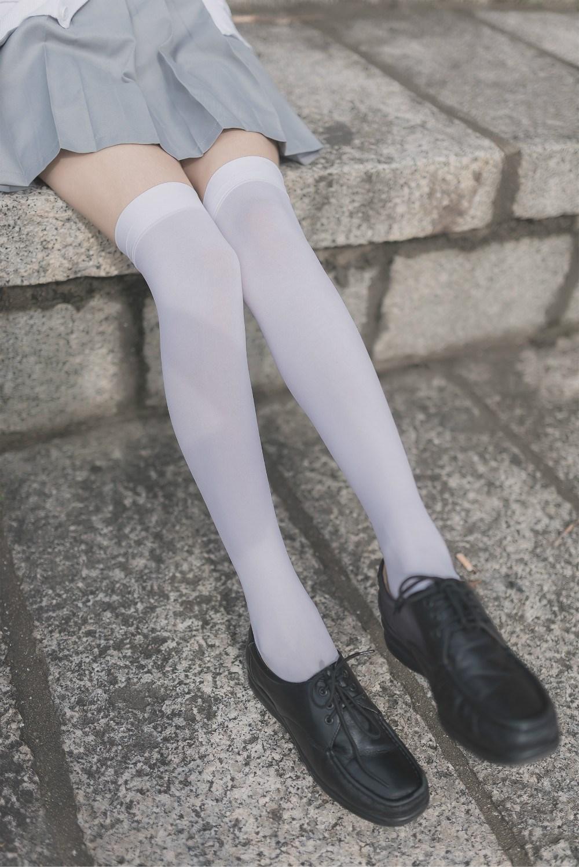 【兔玩映画】白丝过膝袜 兔玩映画 第34张