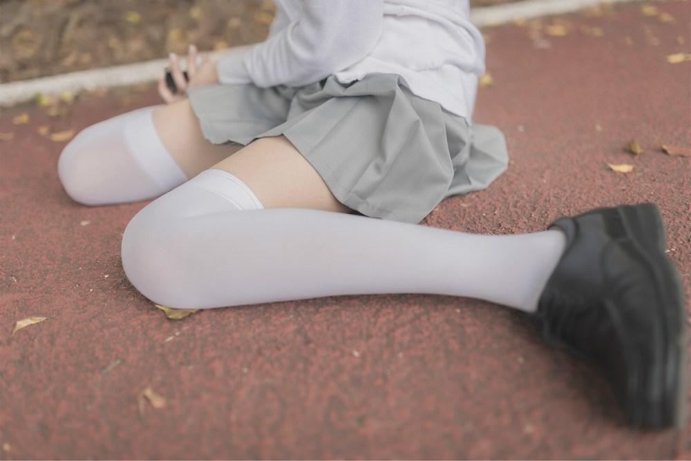 【兔玩映画】白丝过膝袜 兔玩映画 第33张