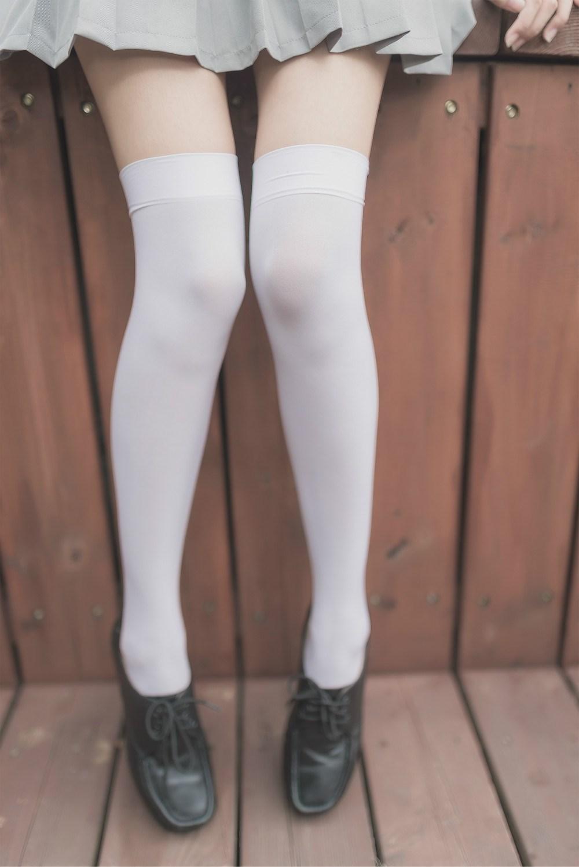 【兔玩映画】白丝过膝袜 兔玩映画 第31张
