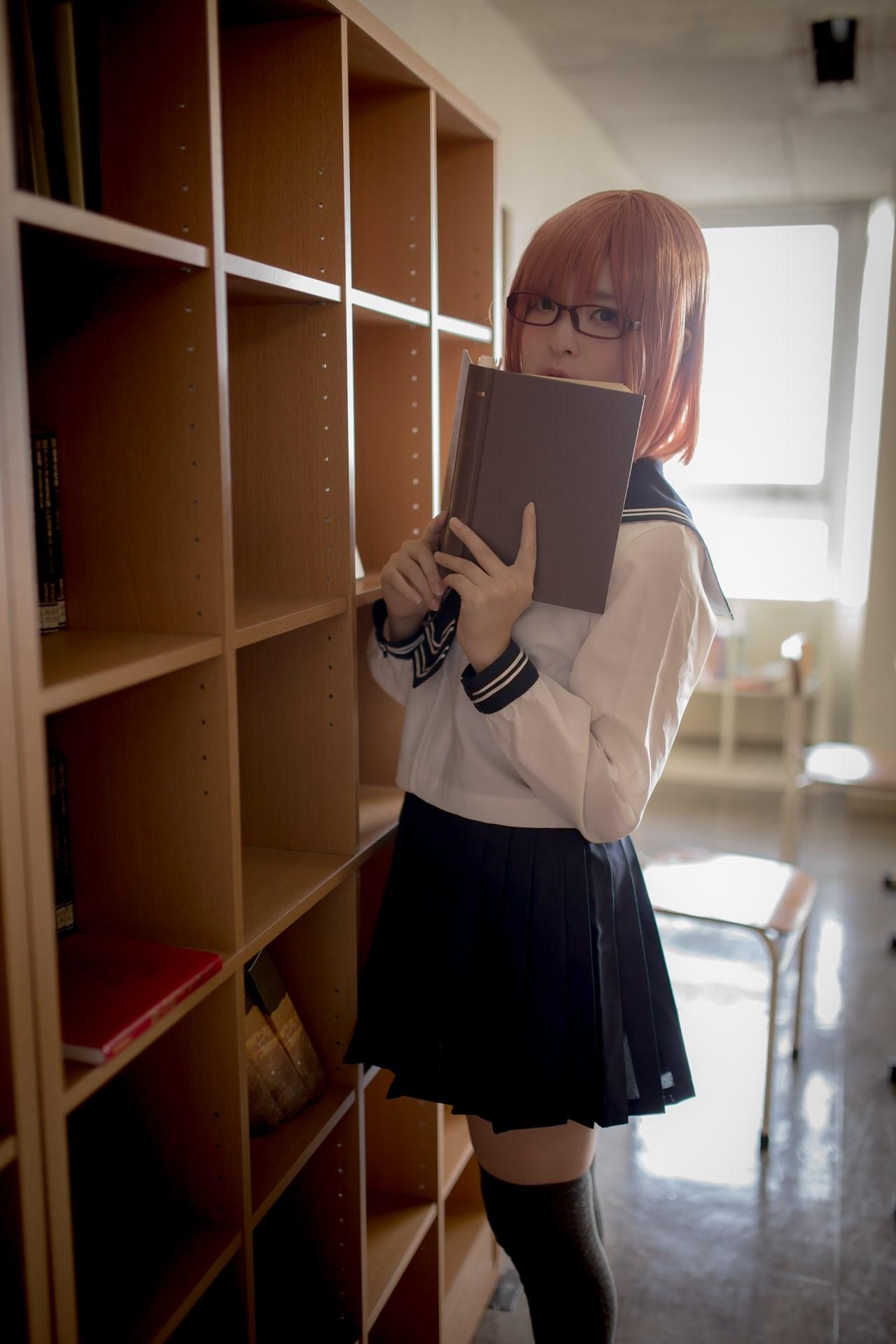【兔玩映画】图书馆里学妹酱 兔玩映画 第23张