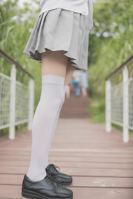 【兔玩映画】白丝过膝袜 兔玩映画 第28张