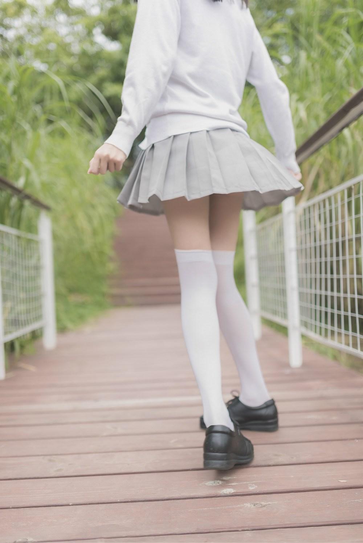【兔玩映画】白丝过膝袜 兔玩映画 第23张