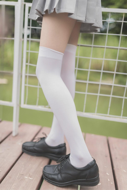 【兔玩映画】白丝过膝袜 兔玩映画 第19张