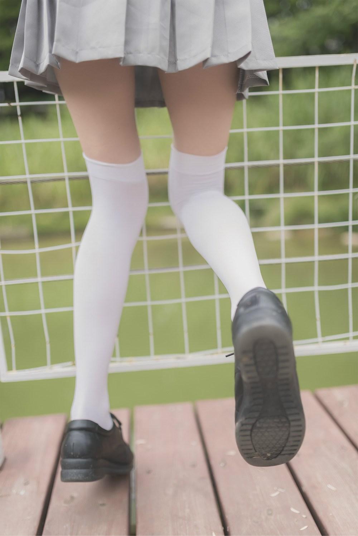 【兔玩映画】白丝过膝袜 兔玩映画 第18张