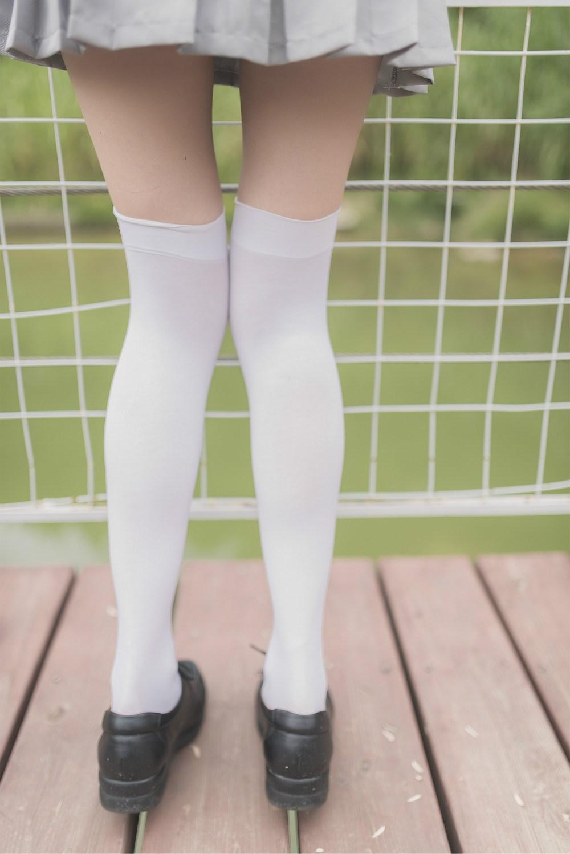 【兔玩映画】白丝过膝袜 兔玩映画 第17张