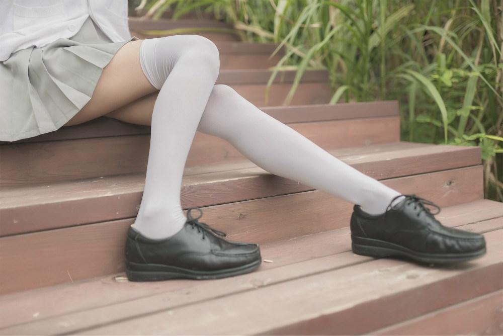 【兔玩映画】白丝过膝袜 兔玩映画 第14张