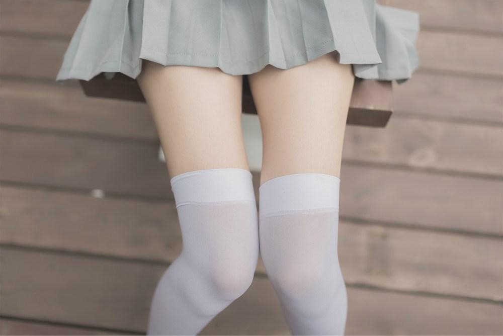 【兔玩映画】白丝过膝袜 兔玩映画 第13张
