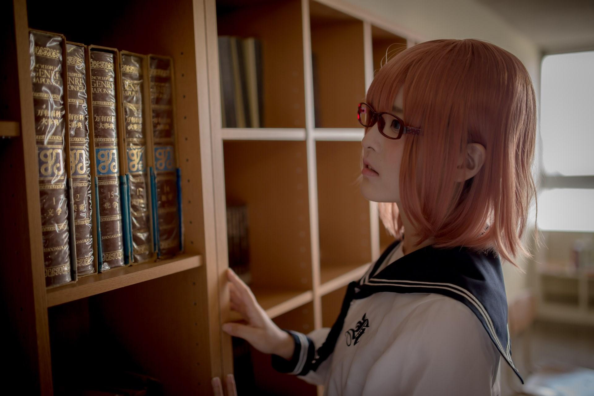 【兔玩映画】图书馆里学妹酱 兔玩映画 第7张