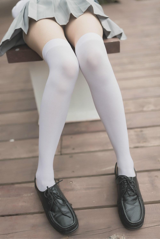 【兔玩映画】白丝过膝袜 兔玩映画 第12张