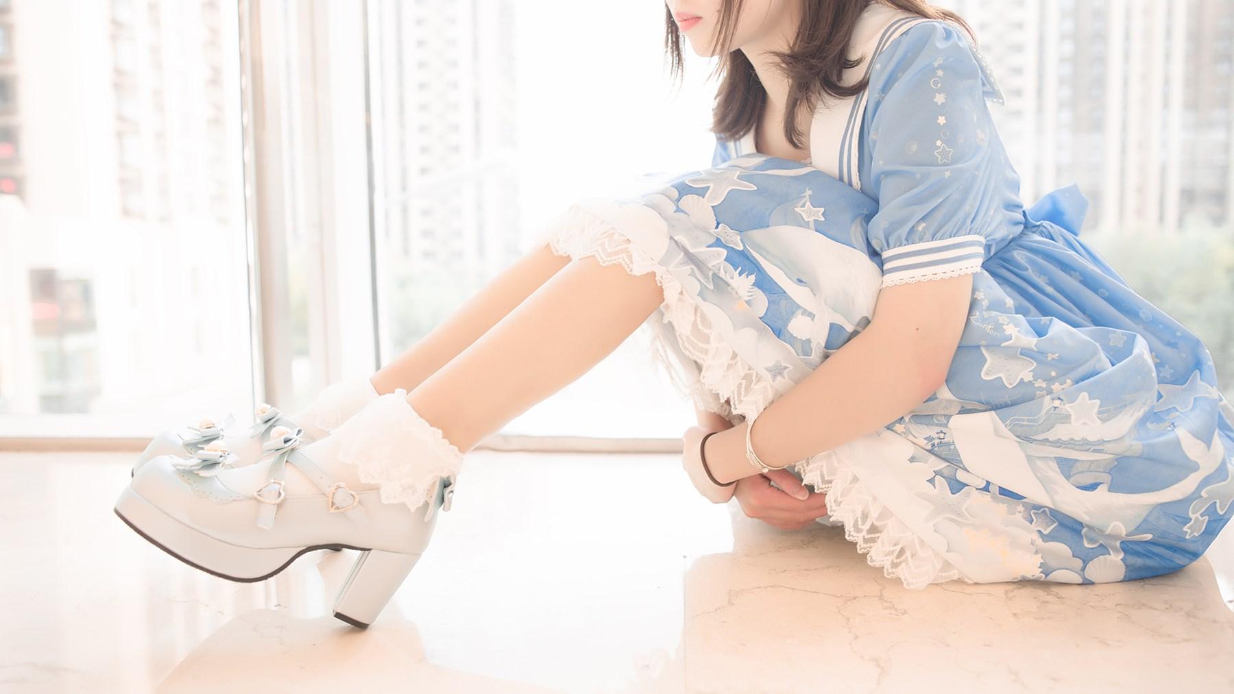 【兔玩映画】蓝色的LO娘 兔玩映画 第73张