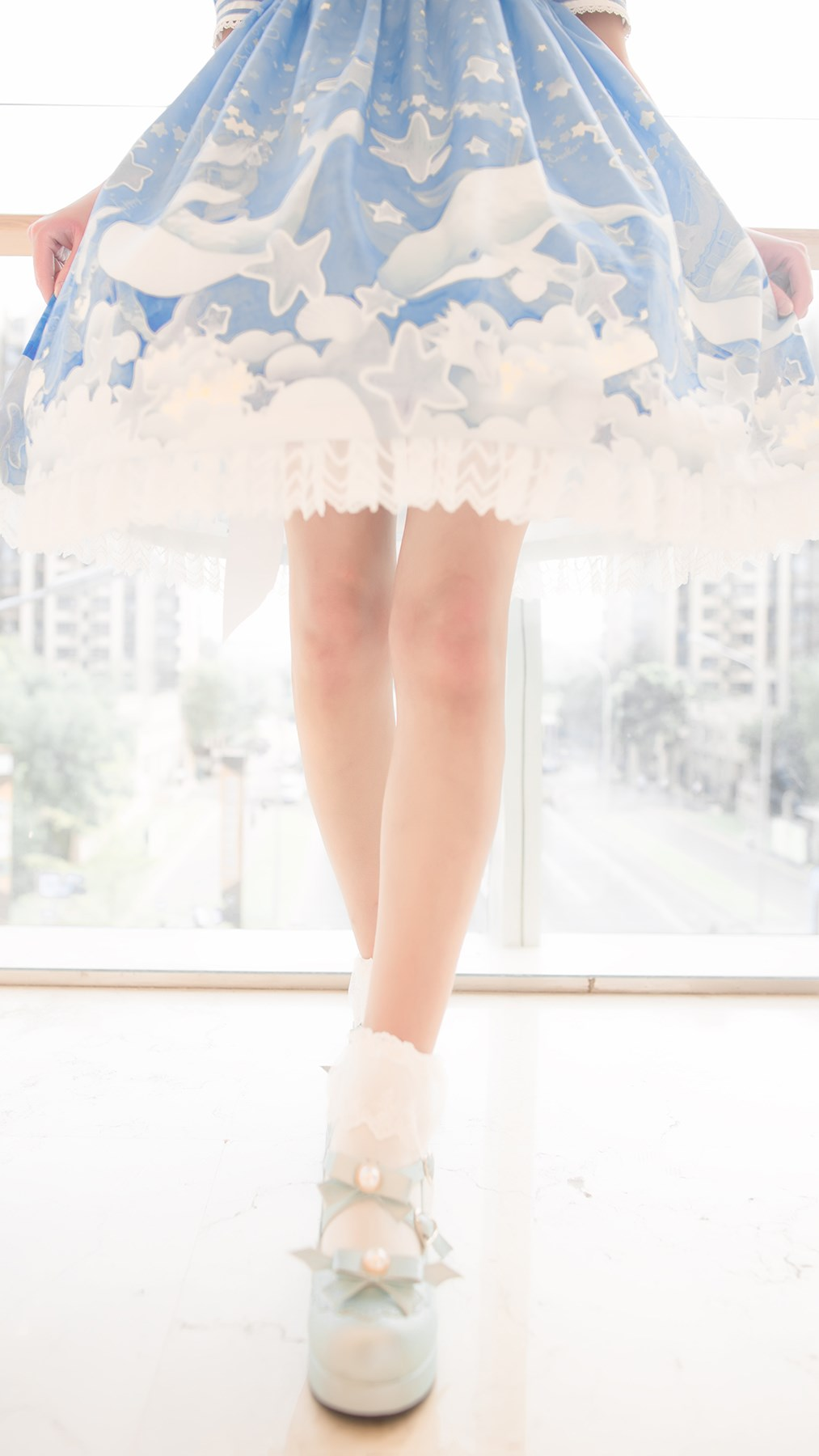 【兔玩映画】蓝色的LO娘 兔玩映画 第70张