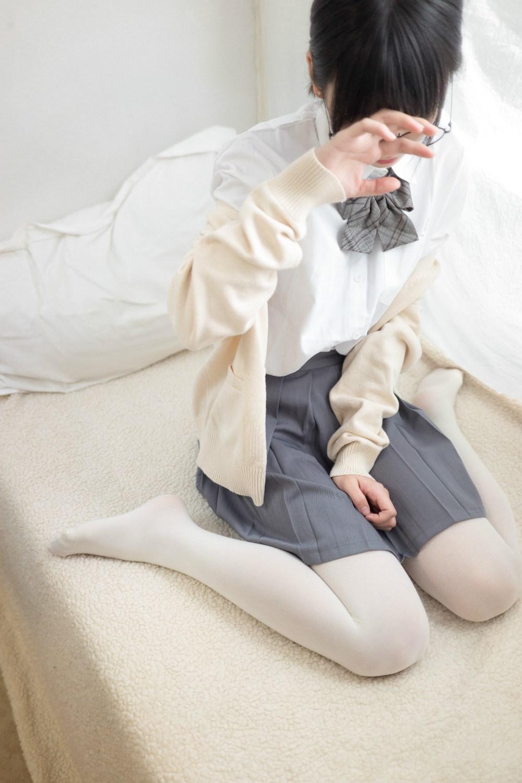 【兔玩映画】萌萌的眼镜娘! 兔玩映画 第36张
