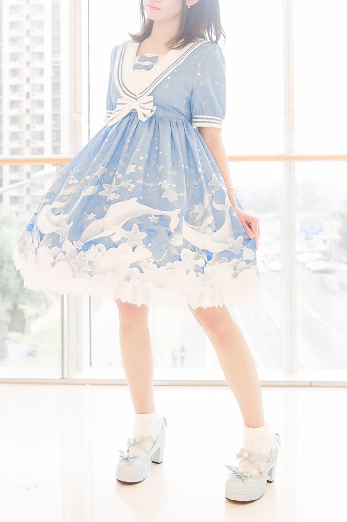 【兔玩映画】蓝色的LO娘 兔玩映画 第64张