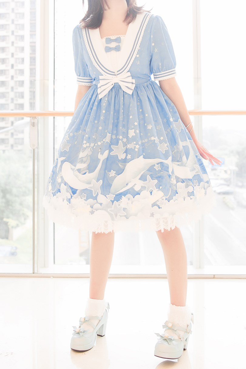 【兔玩映画】蓝色的LO娘 兔玩映画 第63张