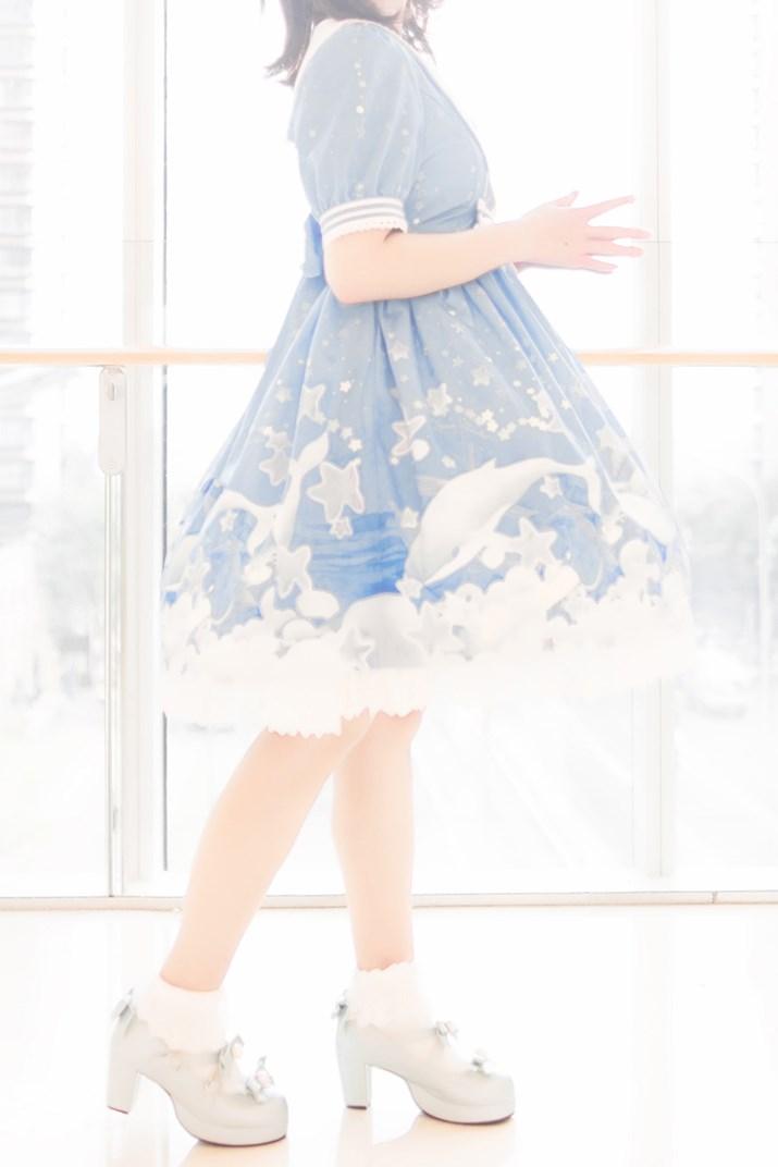 【兔玩映画】蓝色的LO娘 兔玩映画 第62张
