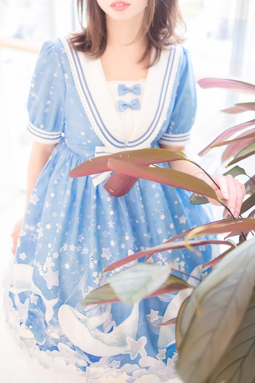 【兔玩映画】蓝色的LO娘 兔玩映画 第61张