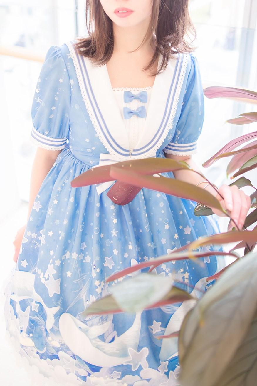 【兔玩映画】蓝色的LO娘 兔玩映画 第60张
