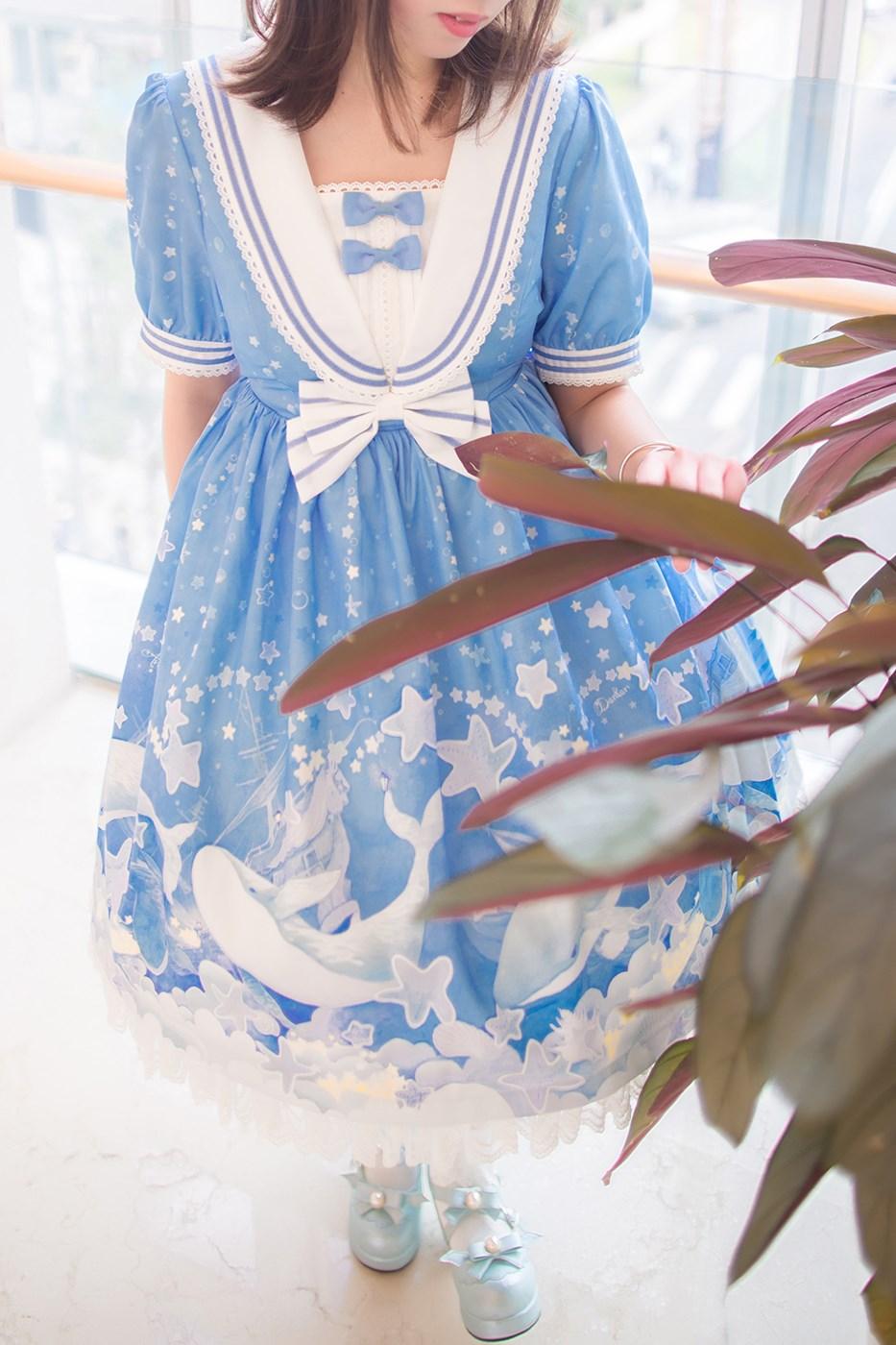 【兔玩映画】蓝色的LO娘 兔玩映画 第59张