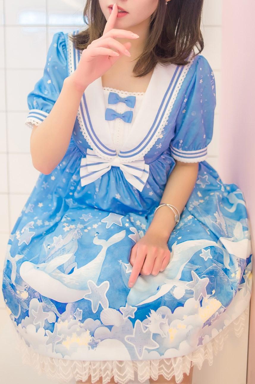 【兔玩映画】蓝色的LO娘 兔玩映画 第57张