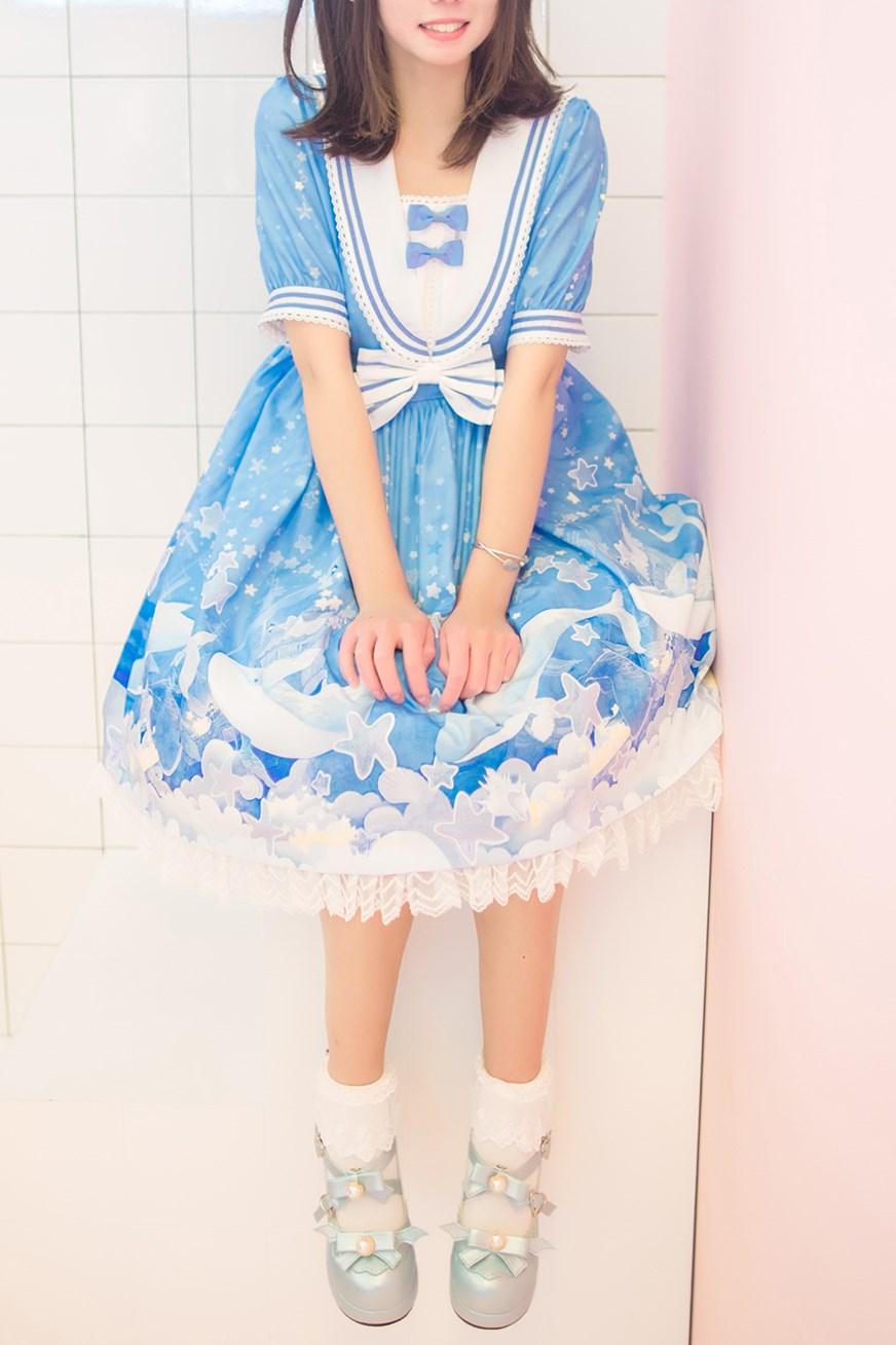 【兔玩映画】蓝色的LO娘 兔玩映画 第55张