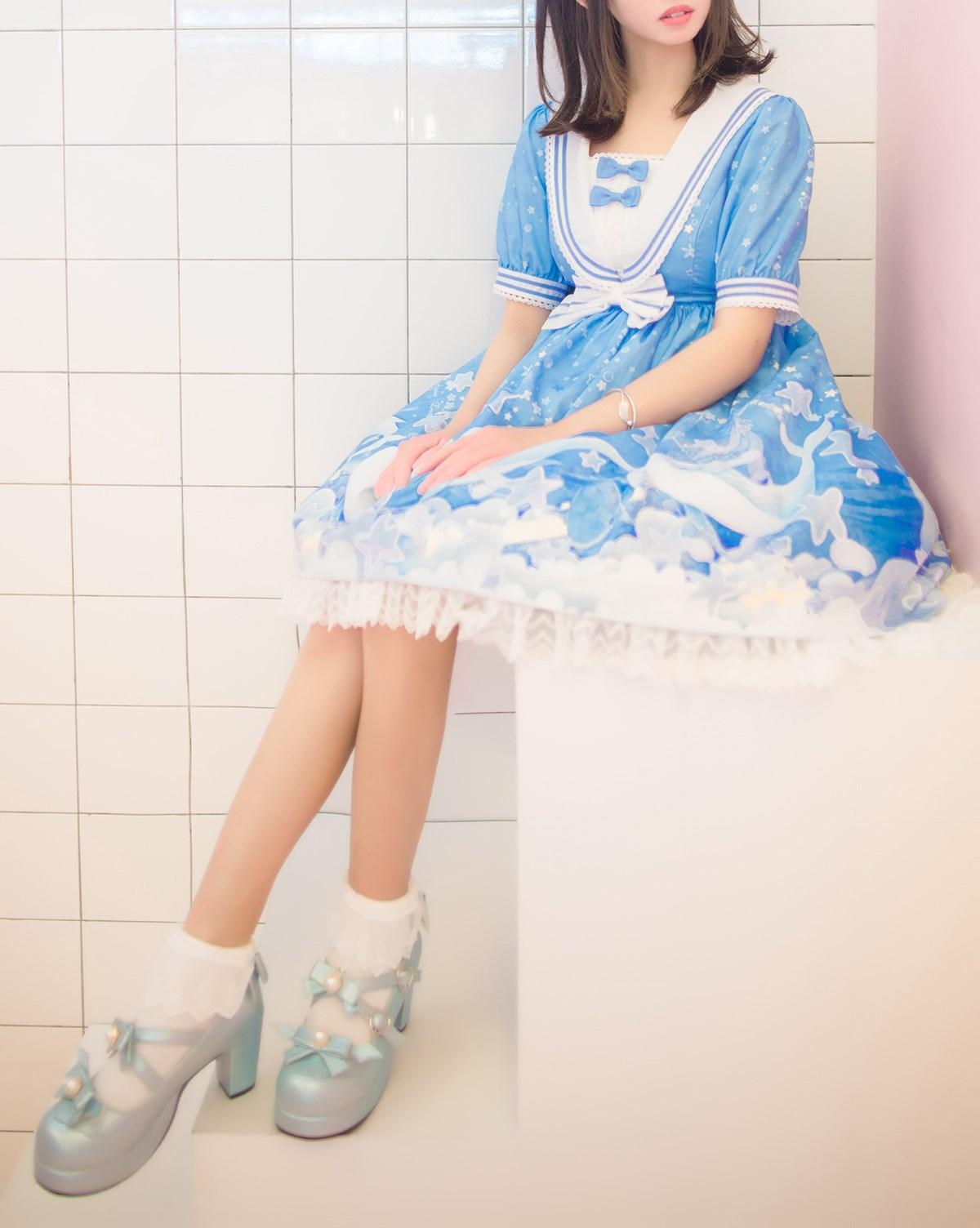 【兔玩映画】蓝色的LO娘 兔玩映画 第54张