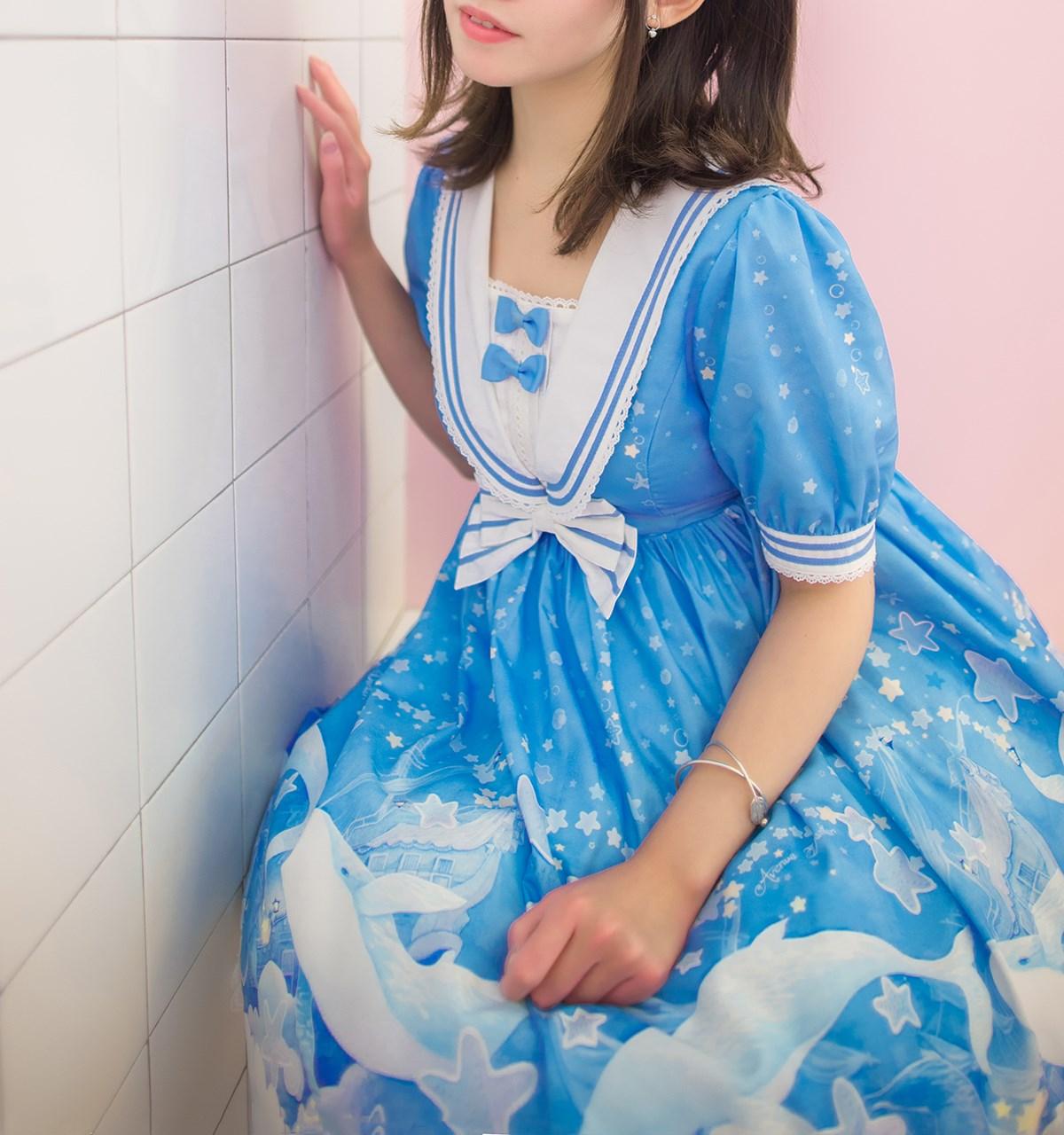 【兔玩映画】蓝色的LO娘 兔玩映画 第53张