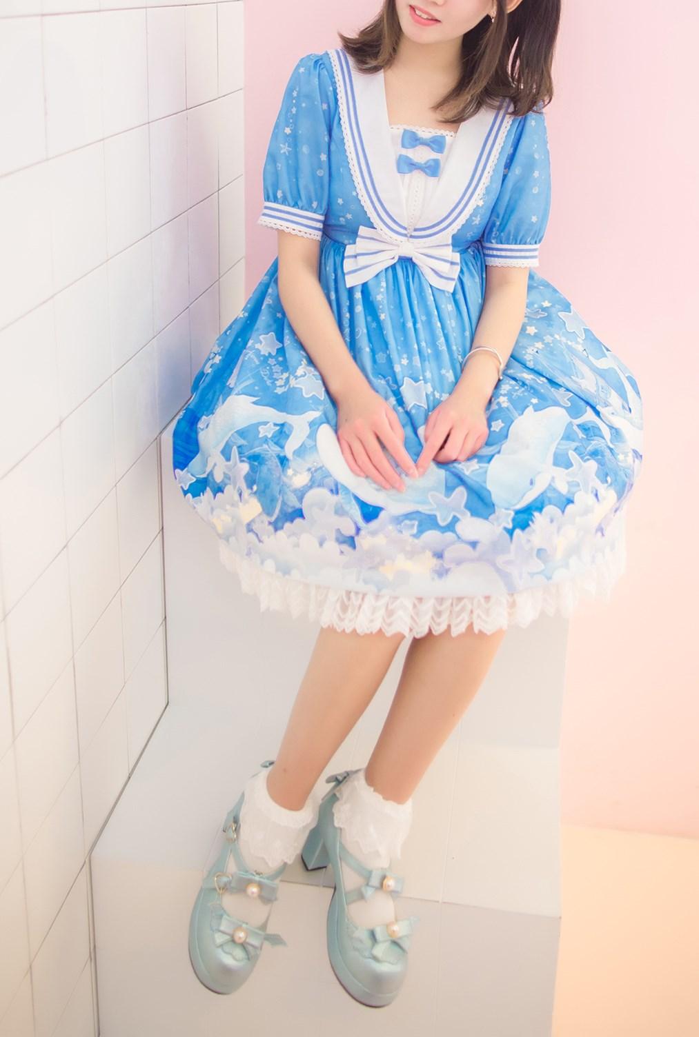 【兔玩映画】蓝色的LO娘 兔玩映画 第52张