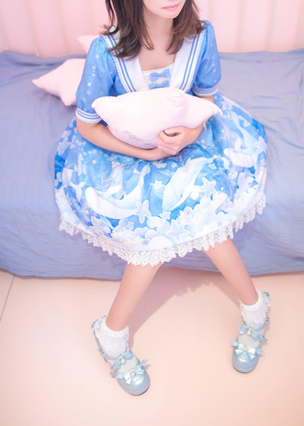 【兔玩映画】蓝色的LO娘 兔玩映画 第42张