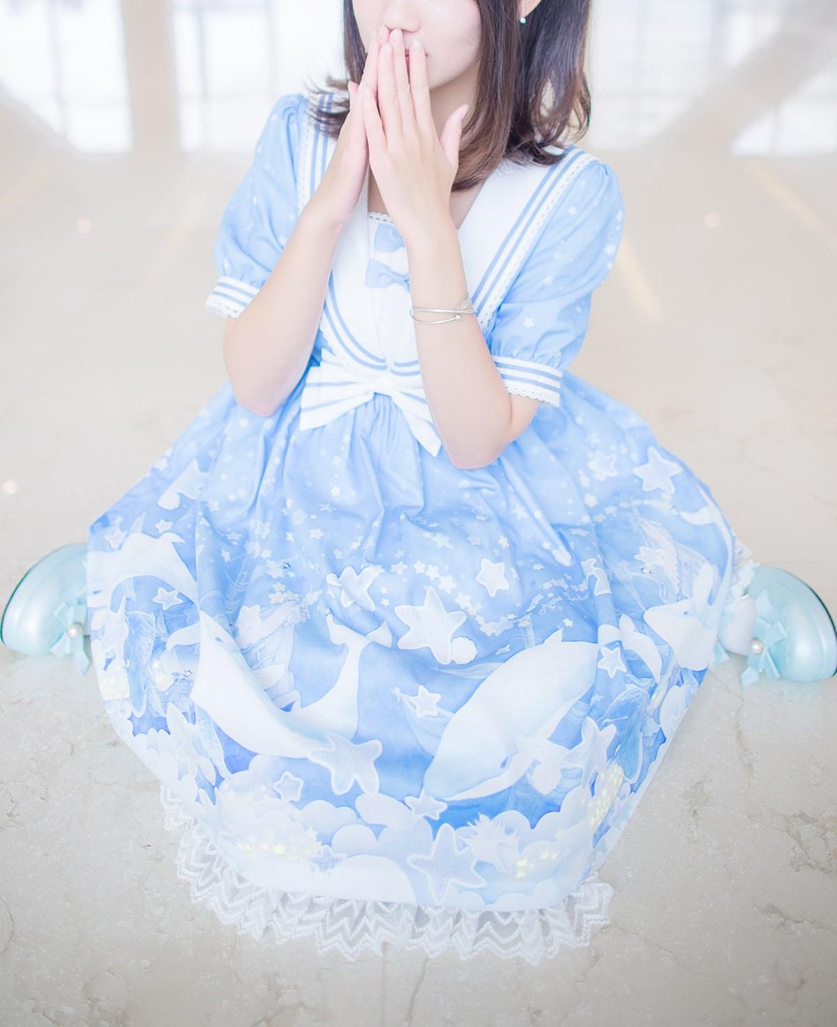 【兔玩映画】蓝色的LO娘 兔玩映画 第40张