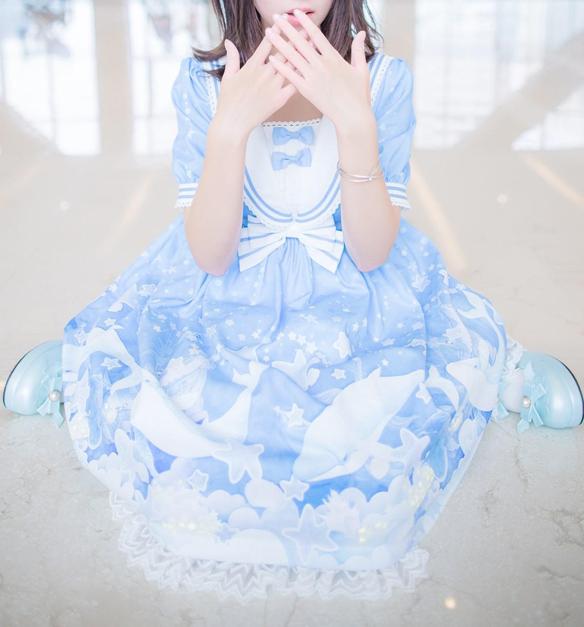 【兔玩映画】蓝色的LO娘 兔玩映画 第39张
