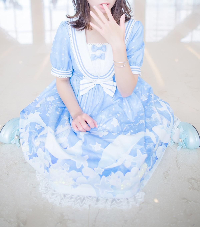 【兔玩映画】蓝色的LO娘 兔玩映画 第38张