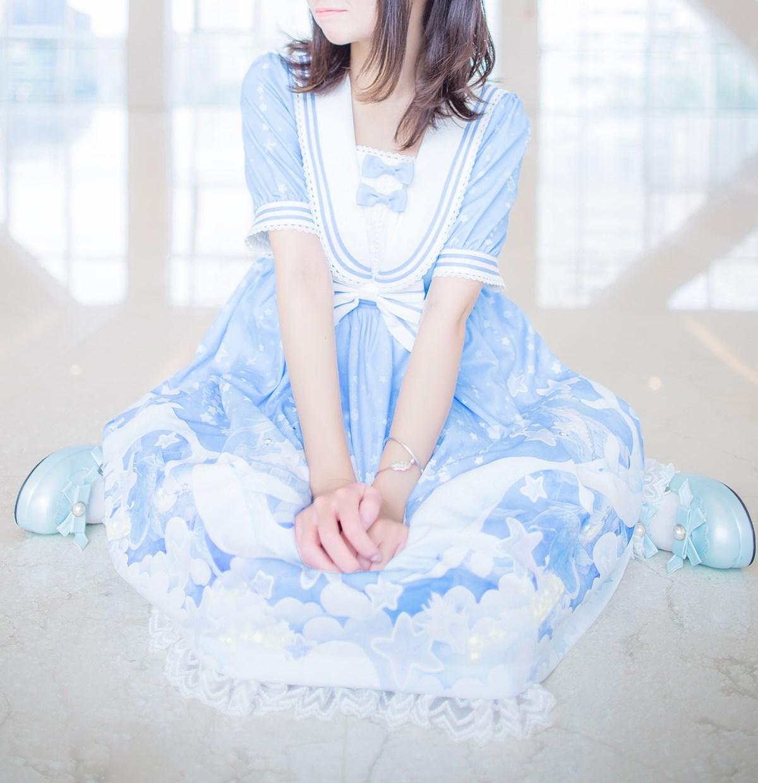 【兔玩映画】蓝色的LO娘 兔玩映画 第34张