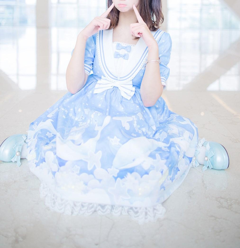 【兔玩映画】蓝色的LO娘 兔玩映画 第33张
