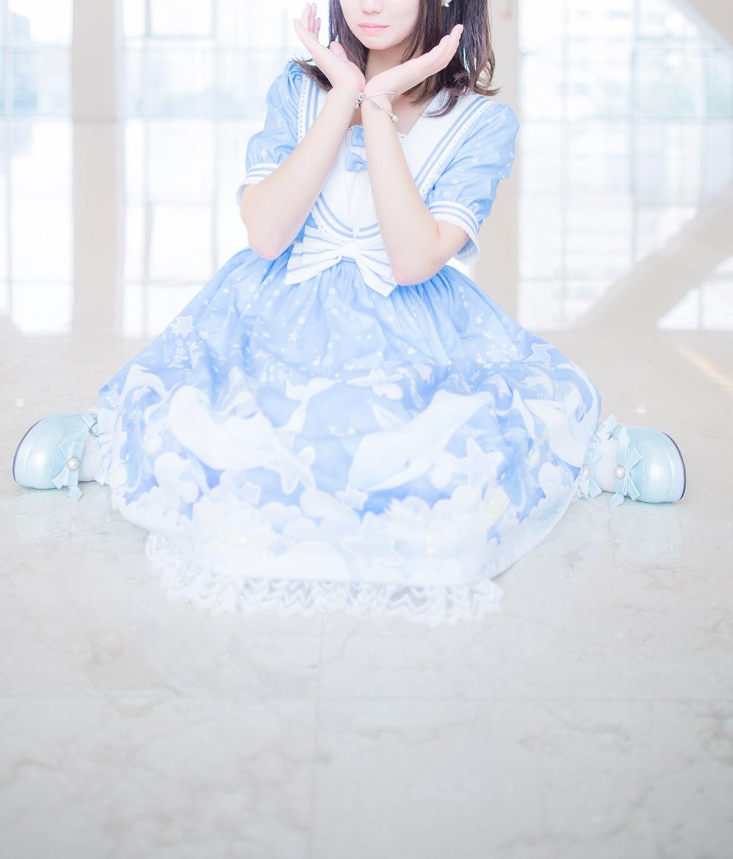 【兔玩映画】蓝色的LO娘 兔玩映画 第32张