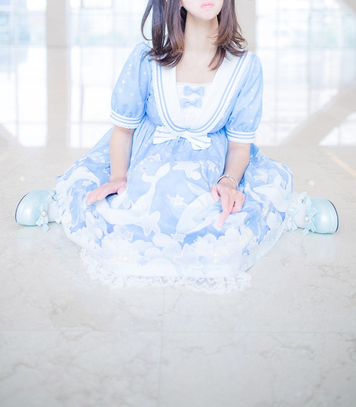 【兔玩映画】蓝色的LO娘 兔玩映画 第31张