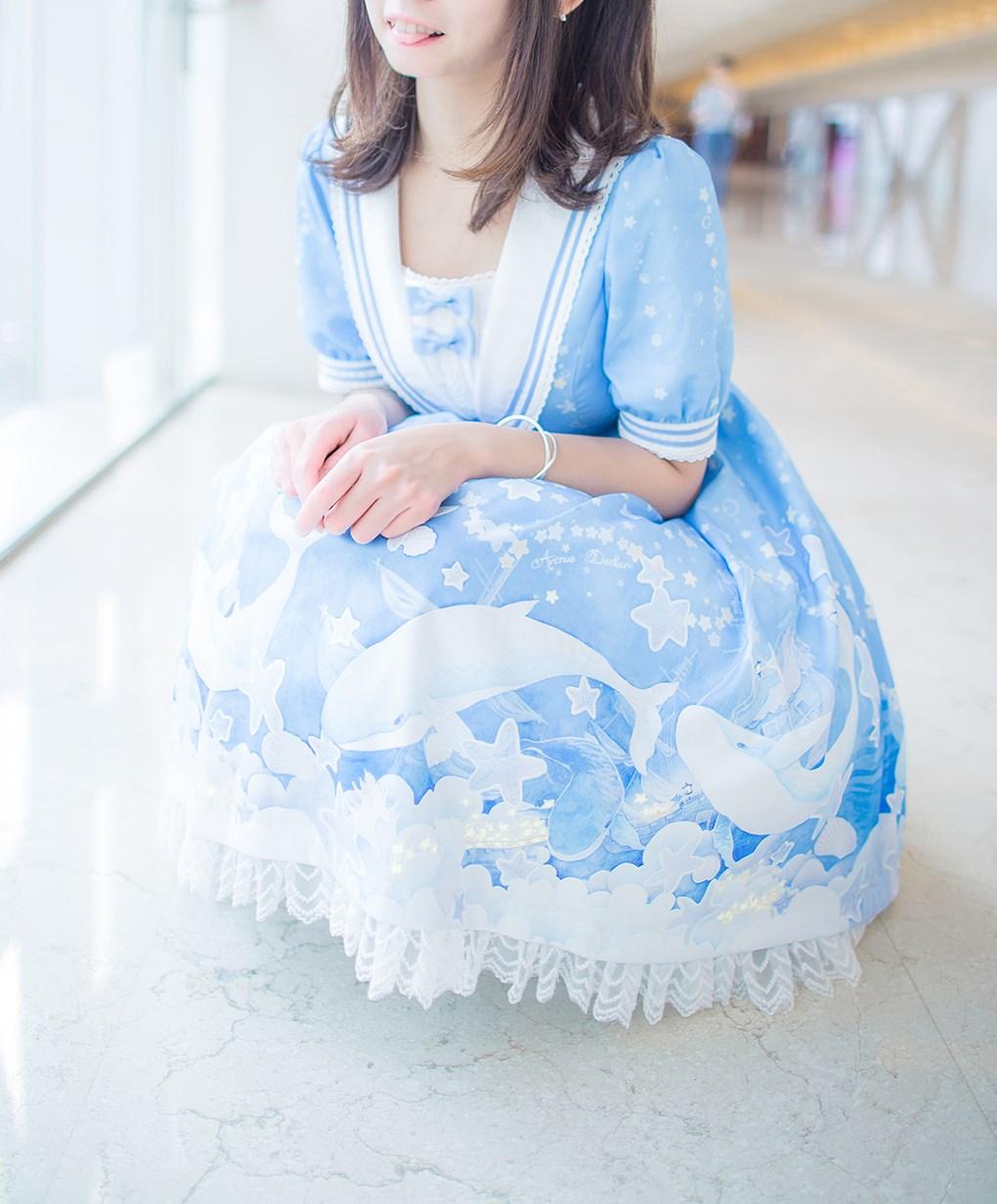 【兔玩映画】蓝色的LO娘 兔玩映画 第29张