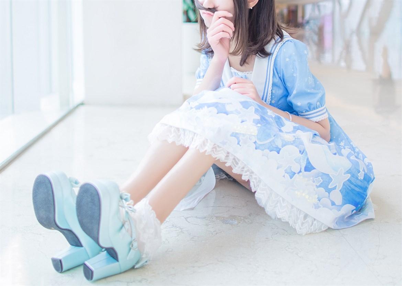 【兔玩映画】蓝色的LO娘 兔玩映画 第28张