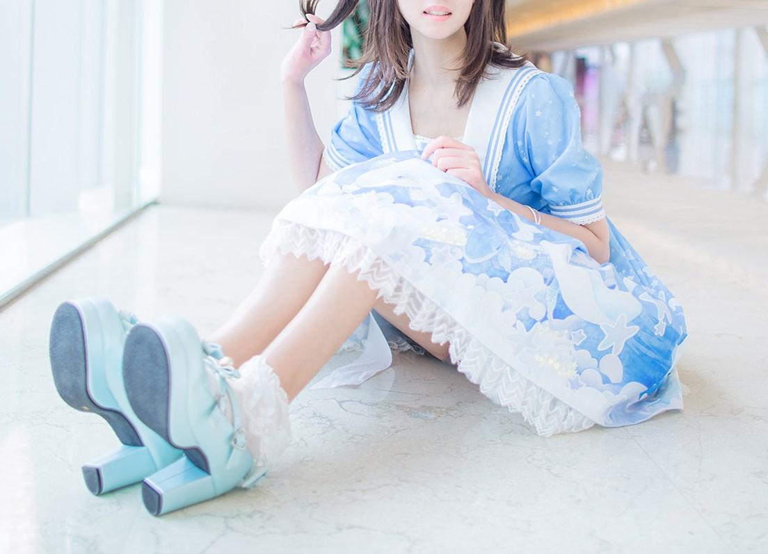 【兔玩映画】蓝色的LO娘 兔玩映画 第27张