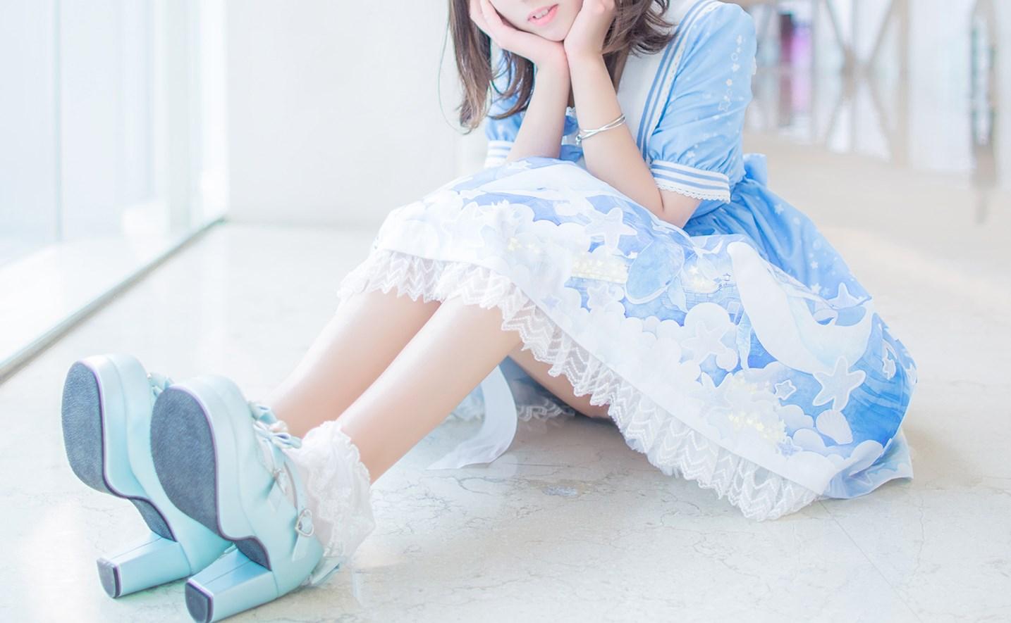 【兔玩映画】蓝色的LO娘 兔玩映画 第26张