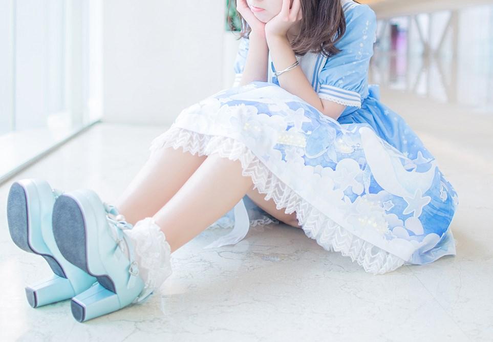 【兔玩映画】蓝色的LO娘 兔玩映画 第25张