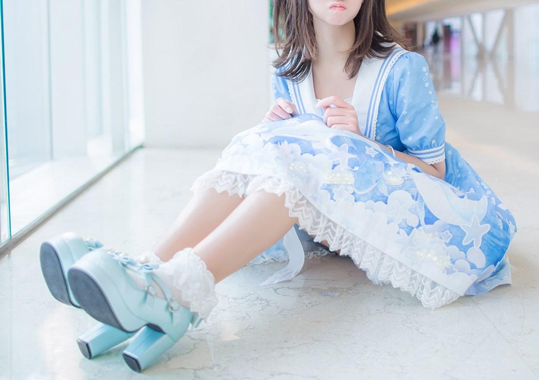 【兔玩映画】蓝色的LO娘 兔玩映画 第24张