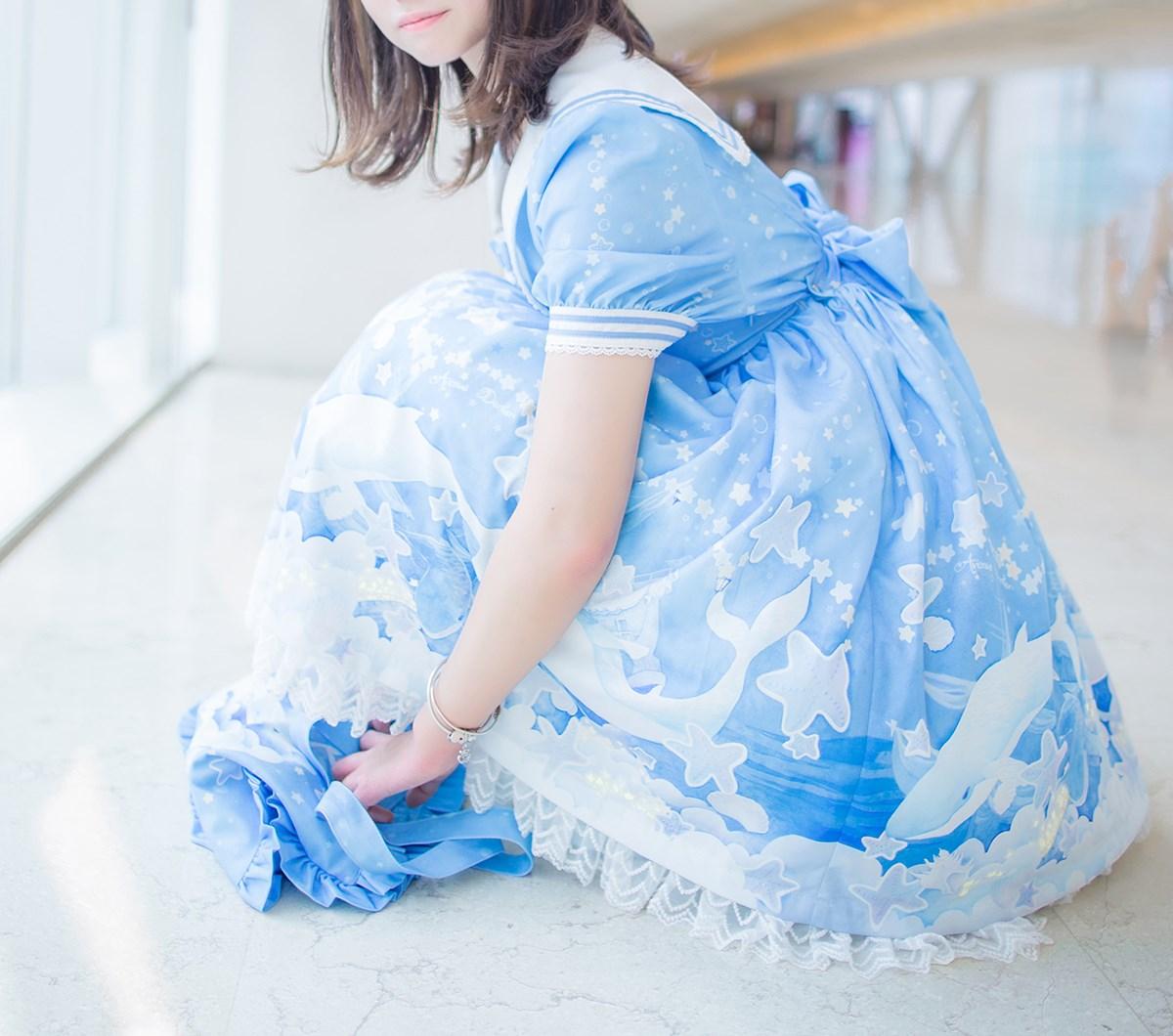 【兔玩映画】蓝色的LO娘 兔玩映画 第23张