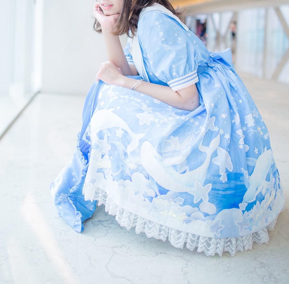 【兔玩映画】蓝色的LO娘 兔玩映画 第22张
